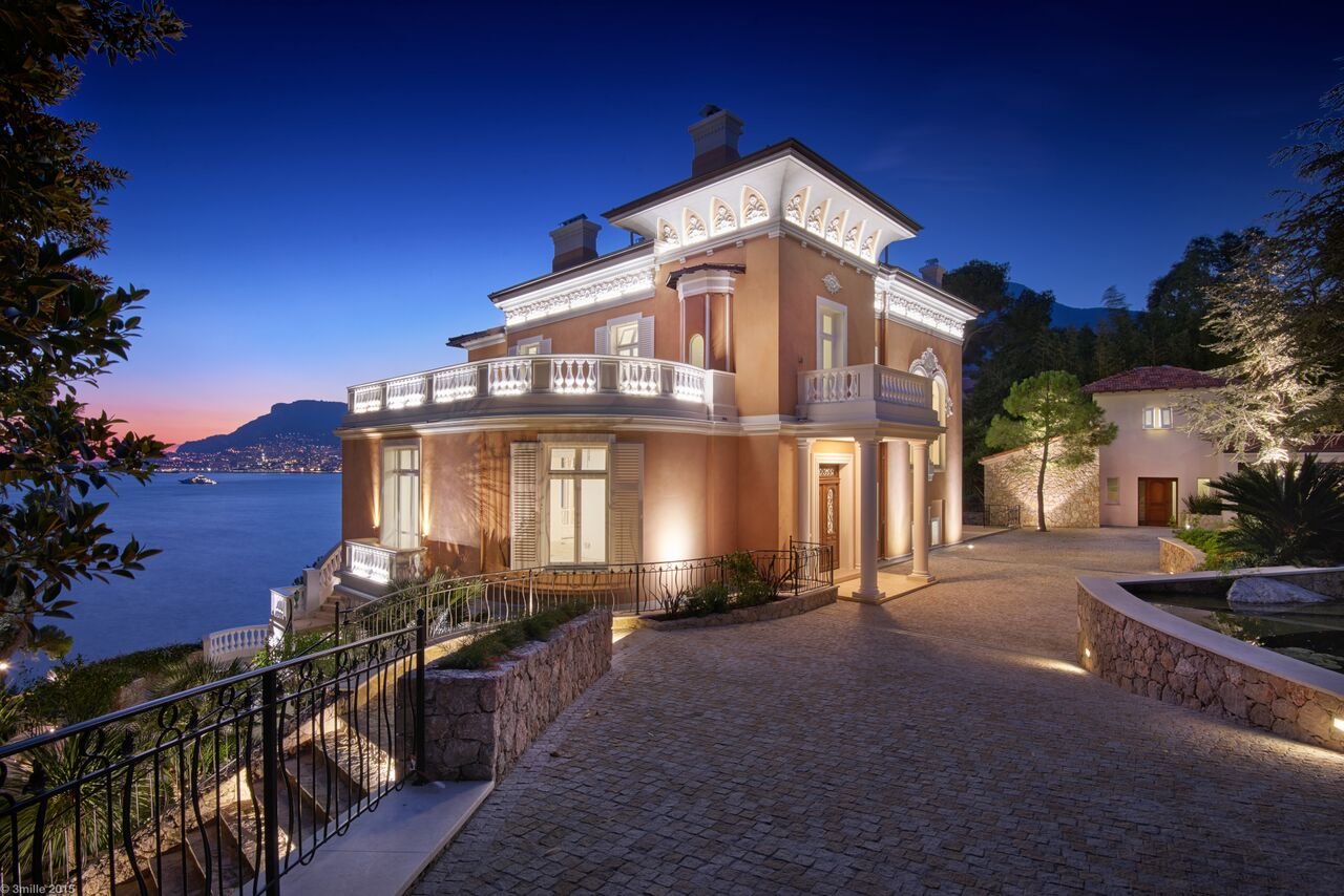 Single Family Home for Sale at Sole agent - Outstanding Belle Epoque 'waterfront' mansion Roquebrune Cap Martin, Provence-Alpes-Cote D'Azur, 06190 France