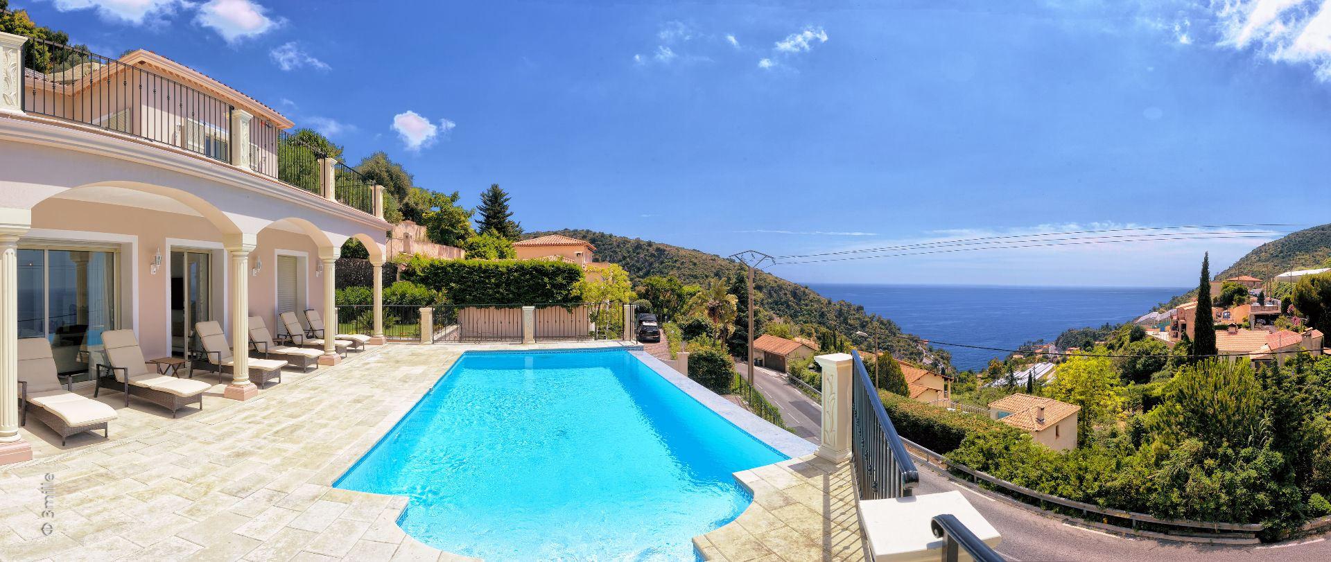 Einfamilienhaus für Verkauf beim Provencal style villa - sea views Eze, Provence-Alpes-Cote D'Azur 06360 Frankreich